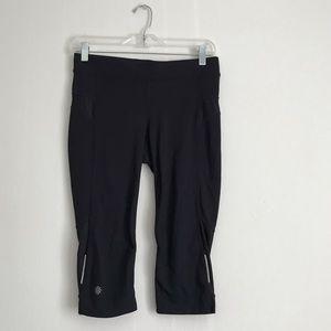 Athleta Black Capri Leggings Breathable Exercise S